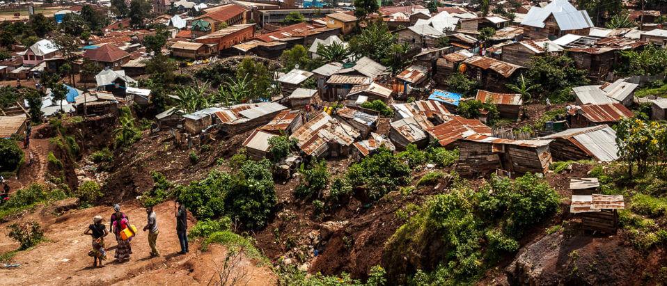 Vista di Bukavu