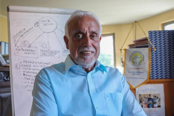 Ritratto del Presidente di Fonte di Speranza, Diego Sportiello