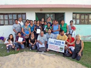 I futuro operatori sanitari Qom sostenuti da Fonte di Speranza