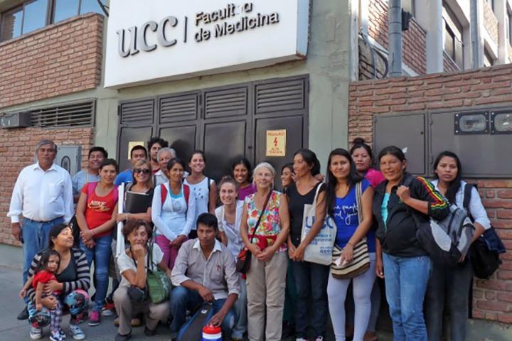FdS - Alicia e i nuovi operatori sanitari della comunita qom