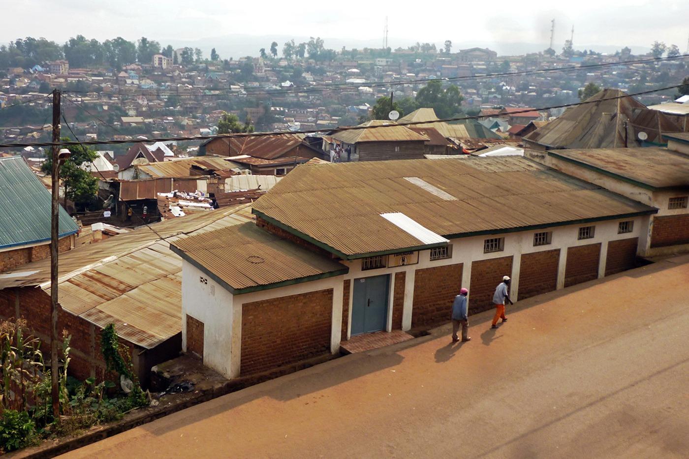 Casa-Famiglia Tupendane di Padre Querzani, a Bukavo, in Congo, prima dei lavori di ampliamento - febbraio 2018