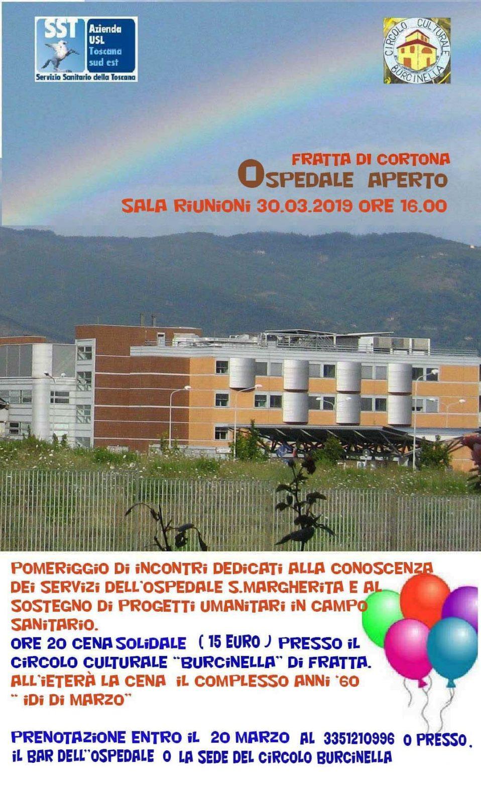 Ospedale Aperto - Locandina Evento